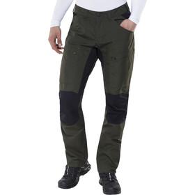 Lundhags Lockne - Pantalones Hombre - negro/Oliva